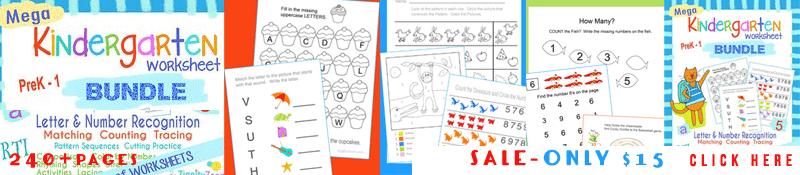 Home. Kindergarten Letter And Math Worksheets Bundle. Kindergarten. Counting Worksheet For Kindergarten At Mspartners.co