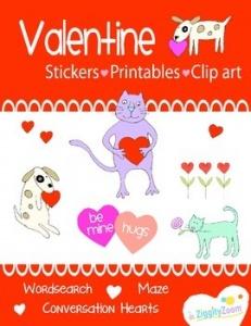 Free Valentine's Day Fun Printable Workbook