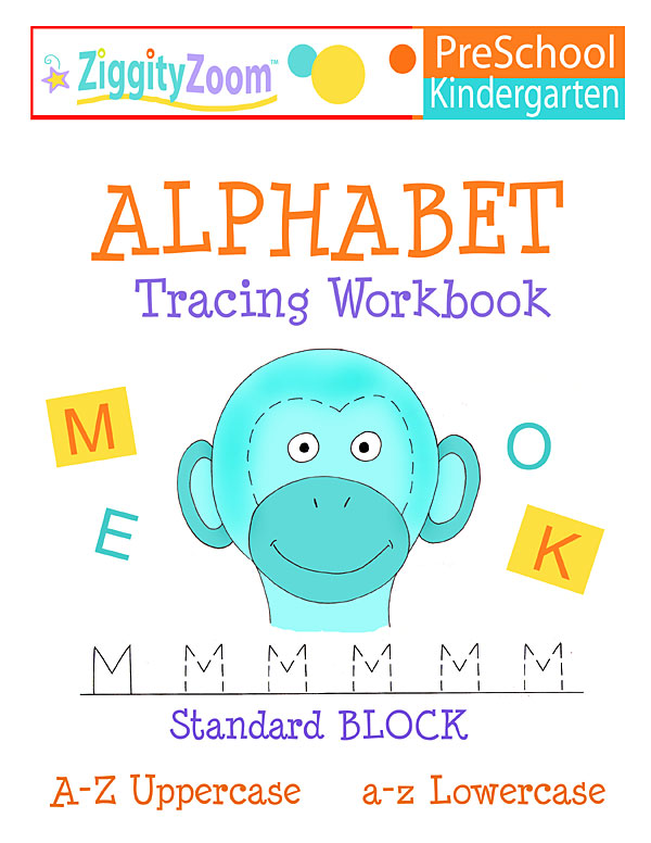 Alphabet Tracing Workbook