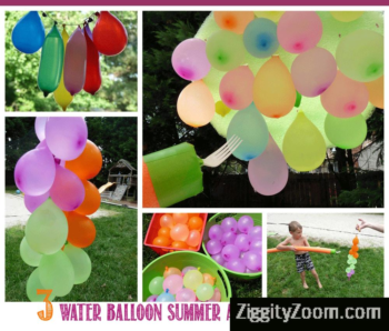 3 Favorite Water Balloon Activities