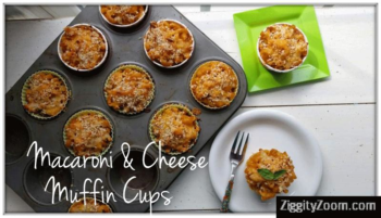 Macaroni & Cheese Muffins Recipe