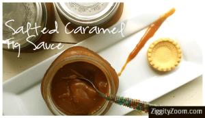 Salted Caramel Fig Sauce Recipe