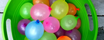 Idea #12- Water Balloon Battle – Kids vs. Parents