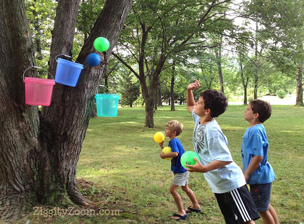 bucket ball game