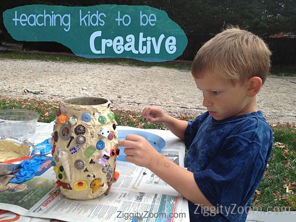 teaching kids creativity