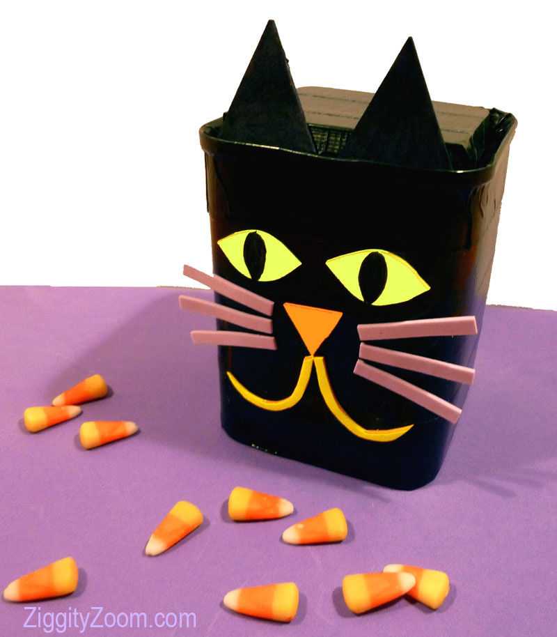 Cat candy container
