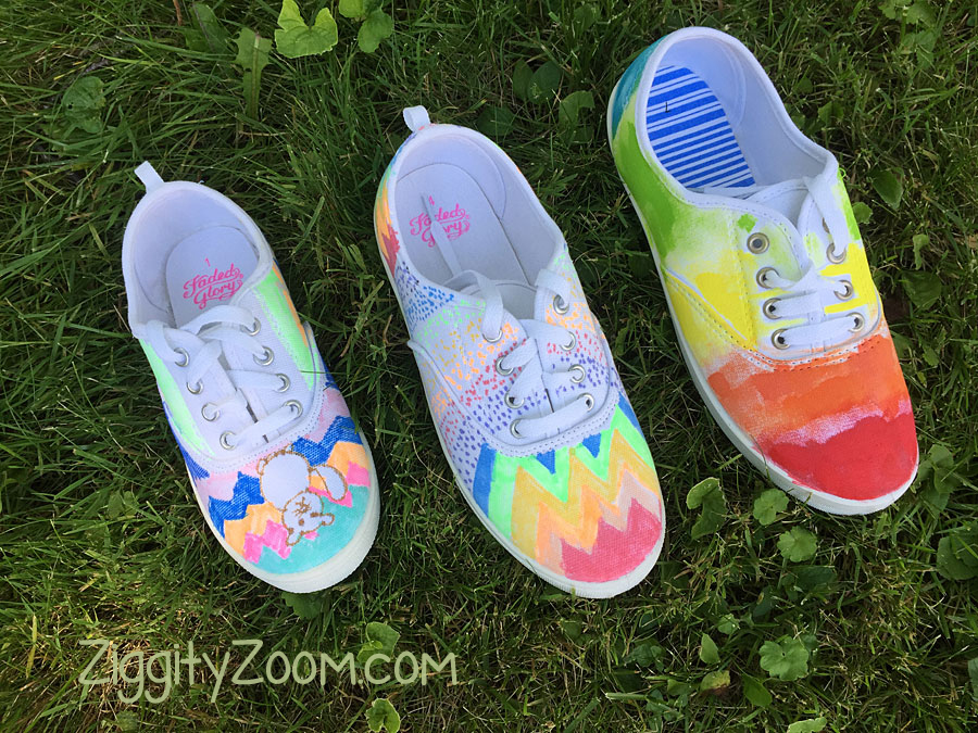 Fabric Marker shoes