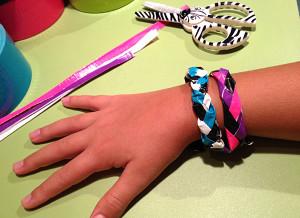 DIY Duct Tape Bracelets