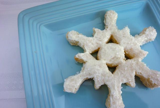 Fun Food- Snowflake Sandwich