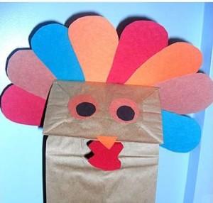 thanksgiving turkey puppet