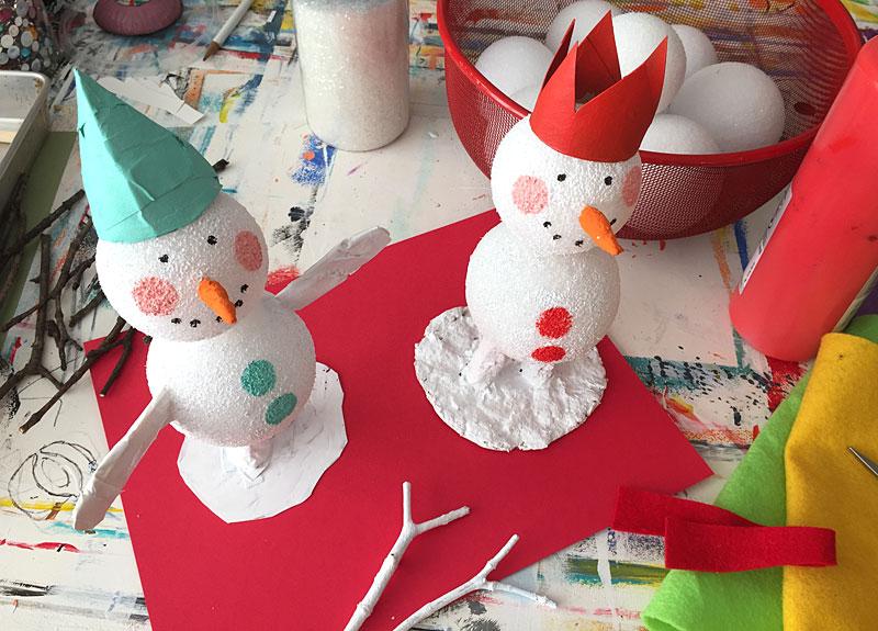 snowman craft project