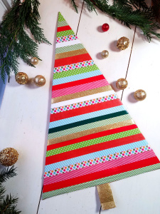 Washi Tape Christmas Decorating Ideas for Your Home