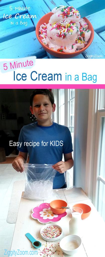 5 minute ice cream