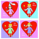 Princess Valentine's Cards