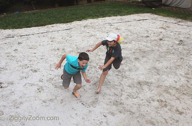 Outdoor activity games for kids