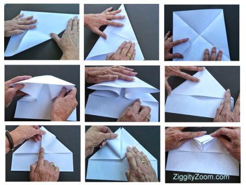 paper airplane tutorial