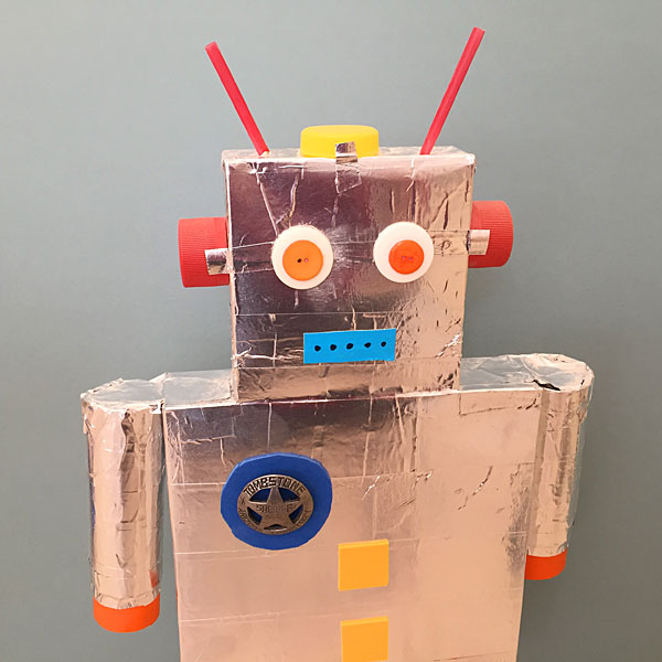 Robot project for kids