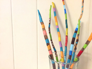 Painted Sticks Creative Project