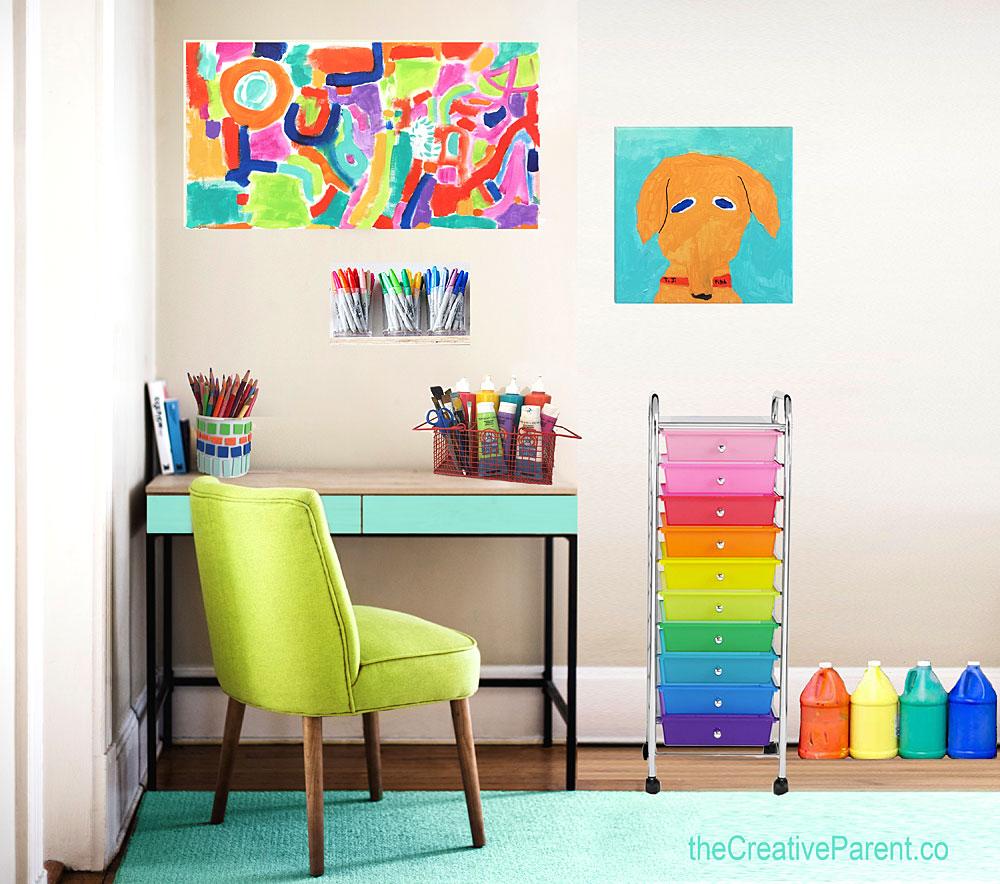DIY Art Studio
