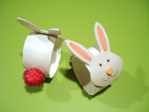 Bunny Napkin Rings Crafts