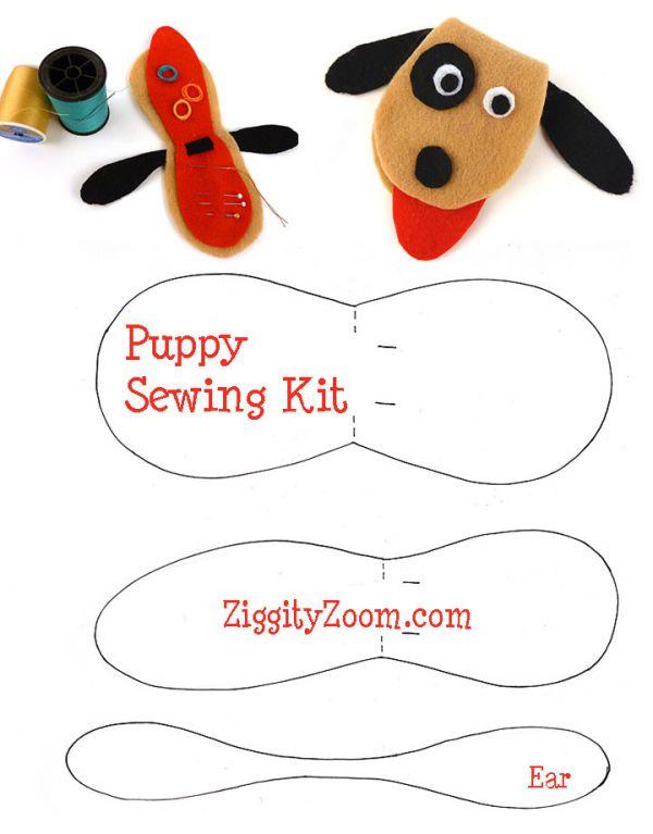 Kids DIY Sewing Kit