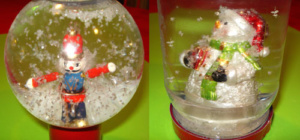 Easy Snowglobe to make with kids