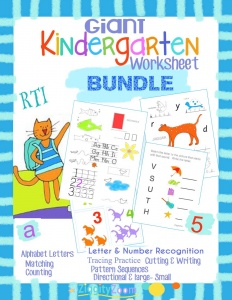 Kindergarten Mega Bundle Workbook