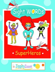 Sight Words Superheros Workbook- Activities, Word Worksheets and More