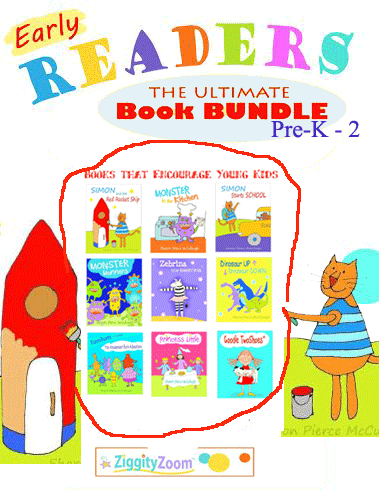 Early Reader Book Bundle for Beginning Readers