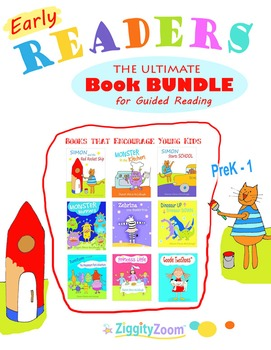 Early Beginning Reader Kindergarten Book Bundle