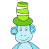 Kids Online Fun Game_ Monkey Wears Hats