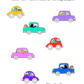 Right Directional Kindergarten Worksheet
