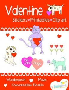 Free Valentine's Day Fun Printable Workbook