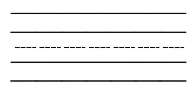 Writing Template Blank Worksheet