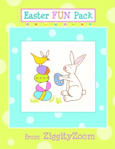Easter Worksheet Fun Pack
