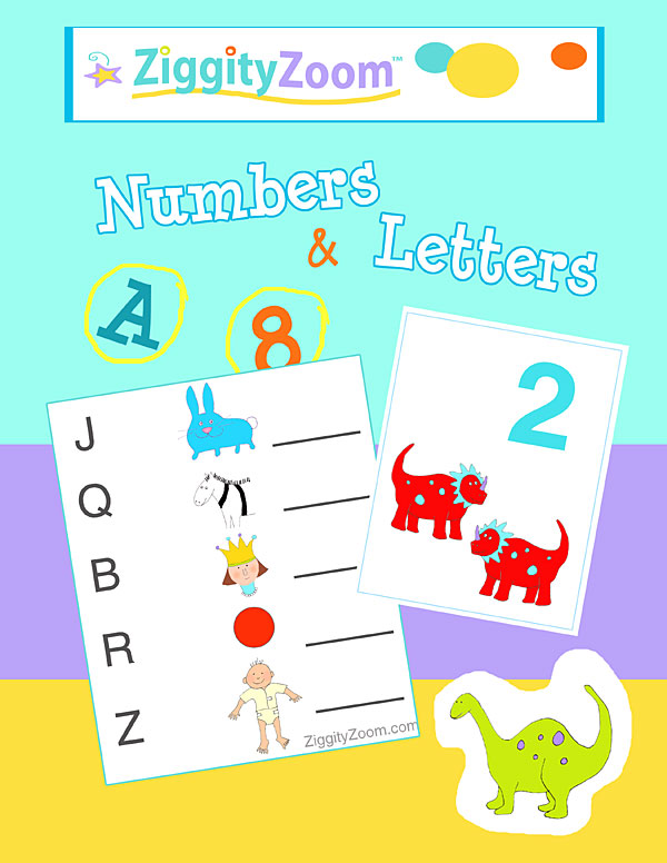 Numbers and Letters Math and Literacy Fun Workbook – National