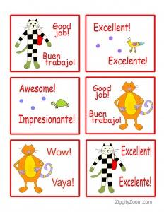 spanish for kids- learn spanish for beginners workbook