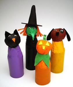Halloween Trick or Treat Figures