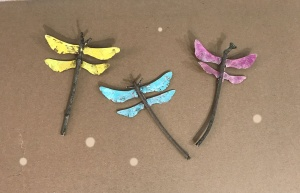 Fall Dragonfly Art Project