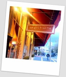The Girl & The Fig Restaurant