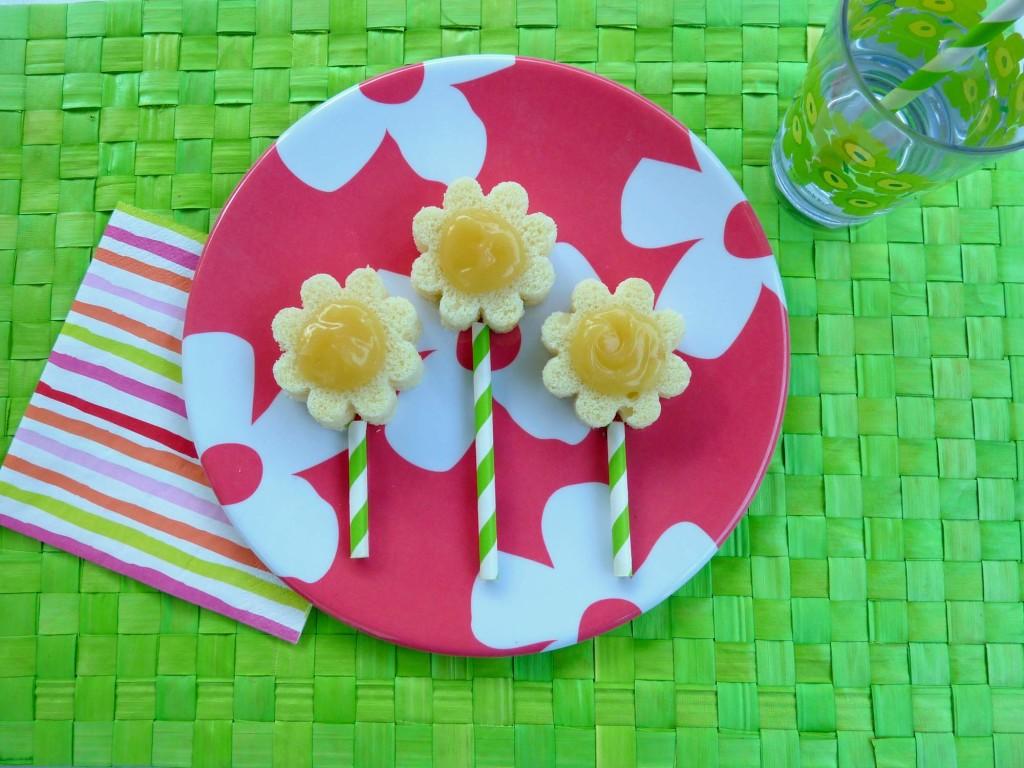Easy Flower Pound Cake Pops