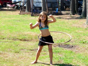 Idea #23 – Sprinkle Some Fun Into the Day with a Hula Hoop Challenge