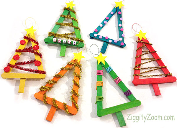 Christmas Holiday DIY Ornament Crafts for Kids