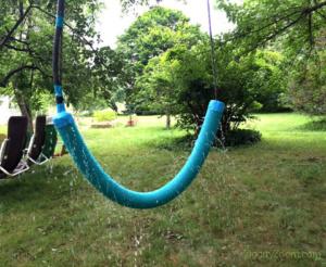 DIY Pool Noodle Water Swing