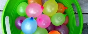 Idea #12- Water Balloon Battle – Kids vs. Parents