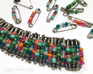 Pretty DIY Beaded Bracelet Craft
