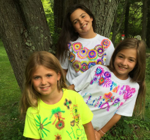 Colorful DIY T-shirts the Whole Family Can Make