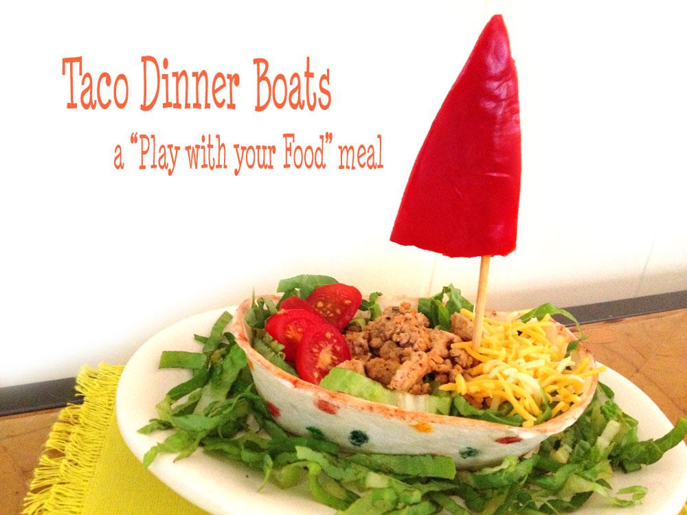 Taco Dinner Boats Recipe
