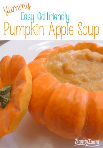 Easy Pumpkin Apple Soup Recipe