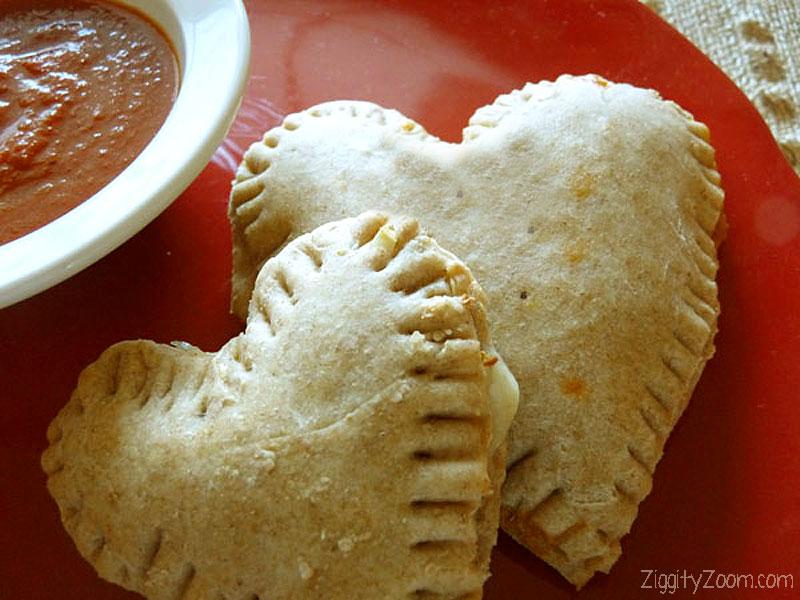 Calzone Hearts Recipe